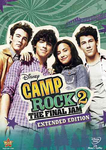 CAMP ROCK 2:FINAL JAM EXTENDED ED BY JONAS,NICK (DVD)